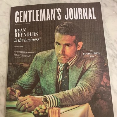 Proud to see our work in the fantastic new addition @gentlemensjournal magazine. #style #AW19