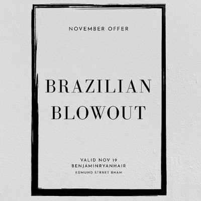BRAZILIAN BLOWDRY OFFER 🌟🌟. Free Shampoo & Conditioner RRP £44 with every treatment. Valid throughout November 2019. T&C's apply.  Check our website for details ! - - - - - - - #shopindependent #loreal #kerastase #smartbond #independentBirmingham #stylebirmingham #photooftheday #hairgoals #hairtrends #shuumuraartofhair #tecniart  #lorealprouk #benjaminryanhair #brazilianblowout #brazilianblowdry #brazilianblowoutbirmingham