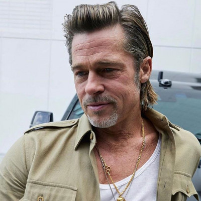 Congratulations for or a well deserved Award Brad🌟. #Best Barnet in Film!  #bradpitt #menshairstyles #mensstyle